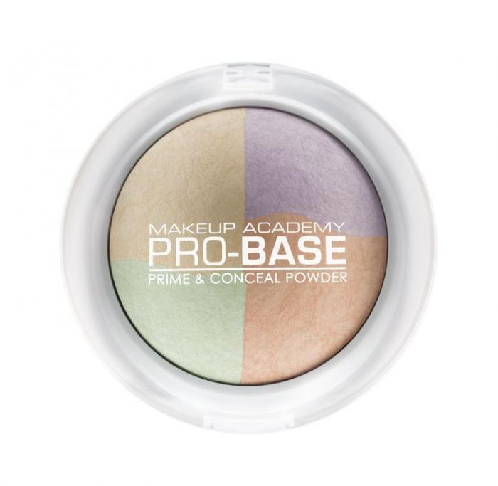 Paleta Profesionala de Corectoare Pudra MUA Makeup Academy Professional Pro-Base Prime & Conceal Powder-big