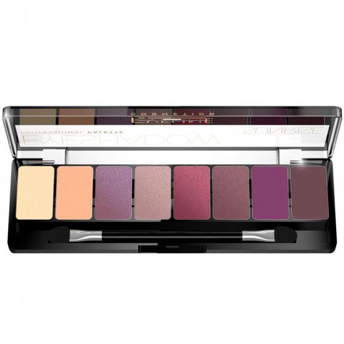 Paleta Profesionala de Farduri EVELINE Sunrise Eyeshadow Palette, 8 nuante-big