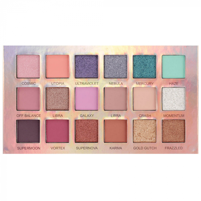 Paleta Profesionala de Farduri Iman Of Noble, 18 Color Eyeshadow Palette, 18 x 1 g-big