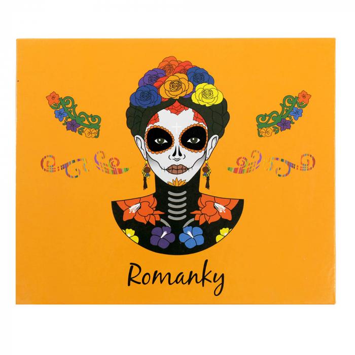 Paleta Profesionala de Farduri Romanky, 30 Color Eyeshadow Palette, 36 g-big