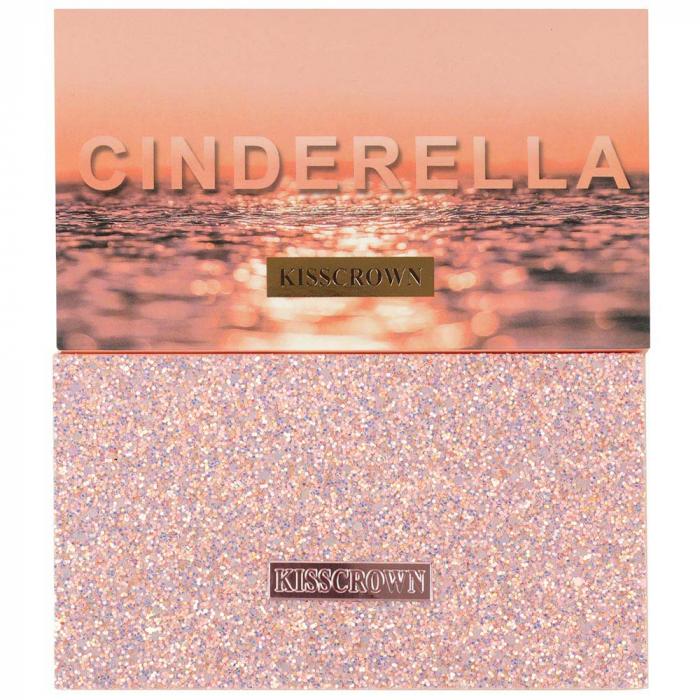 Paleta Profesionala de Farduri CINDERELLA Kiss Crown, 18 Color Eyeshadow Palette-big