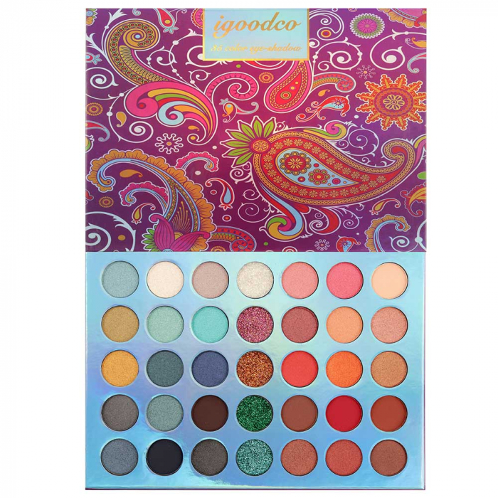 Paleta Profesionala de Farduri Igoodco, 35 Color Eyeshadow Palette, 36 x 1.5 g-big