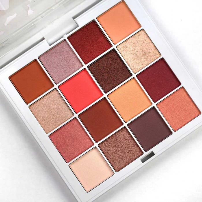 Paleta Profesionala de Farduri Technic SS20 Pressed Pigment Eye Palette, 16 Culori, 32 g-big