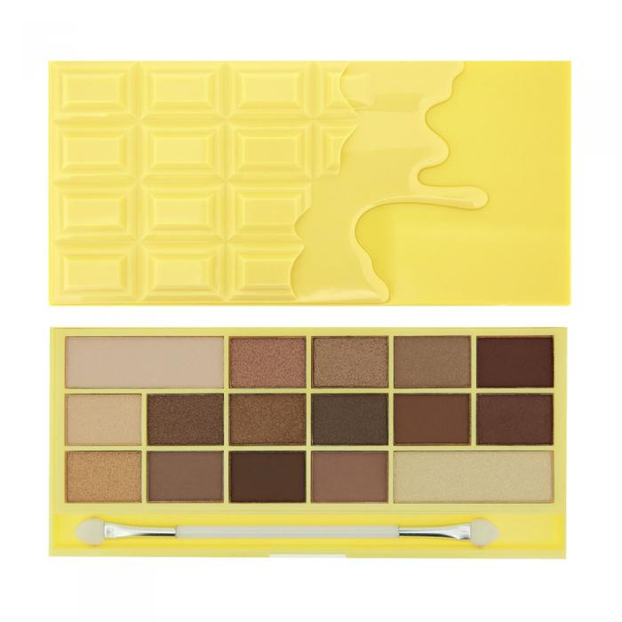 Paleta de Farduri MAKEUP REVOLUTION I Heart Makeup I Love Chocolate - White Chocolate-big