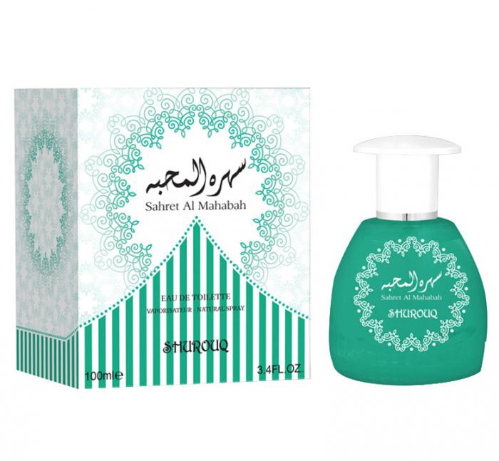 Parfum arabesc unisex, Sahret Al Mahabah by SHUROUQ EDT, 100 ml-big