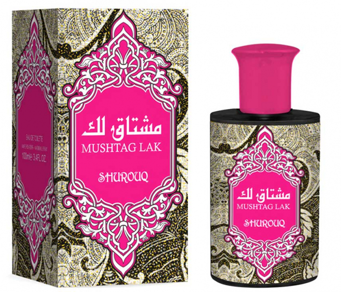 Parfum arabesc dama, Mushtag Lak by SHUROUQ EDT, 100 ml-big