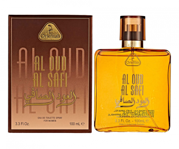 Parfum arabesc dama, Al Oud Al Safi by Dorall Collection Orientals EDT, 100 ml-big