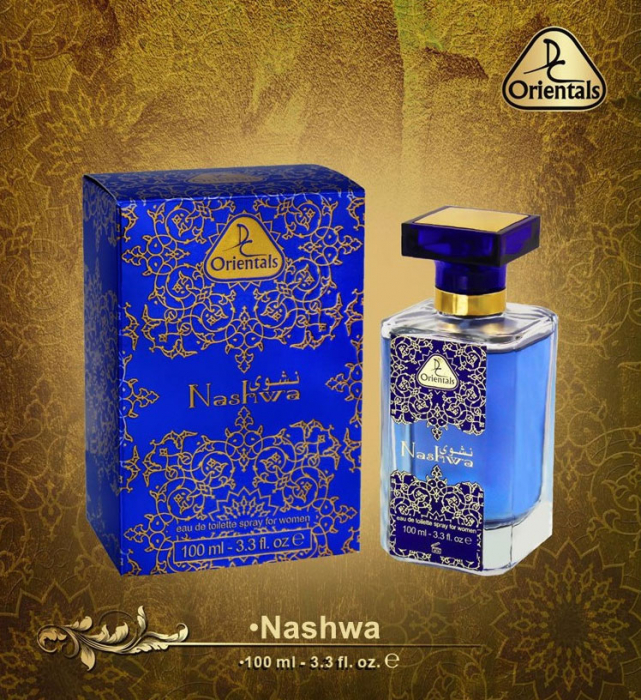 Parfum arabesc dama, Nashwa by Dorall Collection Orientals EDT, 100 ml-big