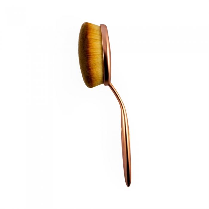 Pensula Ovala Pentru Fond De Ten Makeup Revolution Pro Precision Large Oval Face-big