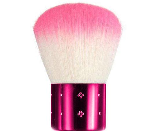 Pensula Profesionala Kabuki Pink, Diamond Crystals-big