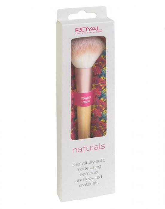Pensula din bambus pentru pudra ROYAL Natural Powder Brush, 100% Eco-friendly-big