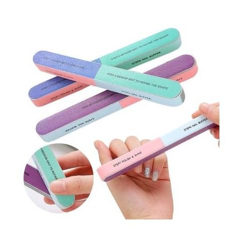 Pila pentru unghii cu 7 fete numerotate, 7 Step Nail Buffer-big