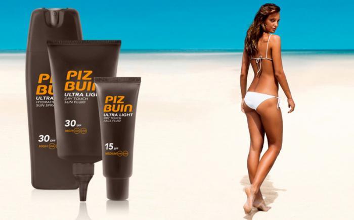 Fluid Piz Buin Ultra Light Dry Touch cu Protectie Solara SPF 30, 150 ml-big