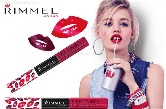 Ruj lichid rezistent la transfer Rimmel London Provocalips, 420 Berry, 7 ml-big