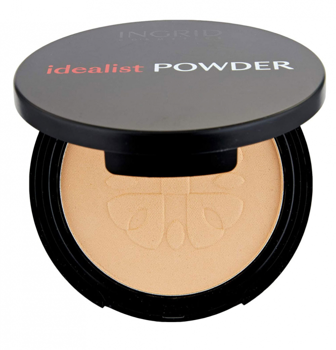 Pudra Compacta cu aspect mat Ingrid Cosmetics Idealist Powder, nr. 02, 7 g-big