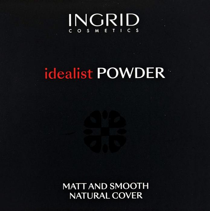 Pudra Compacta cu aspect mat Ingrid Cosmetics Idealist Powder, nr. 01, 7 g-big