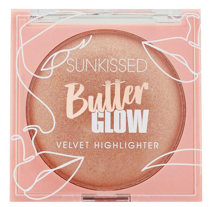 Pudra iluminatoare SUNKISSED Butter Glow Velvet, Bronz Auriu, 20 g-big
