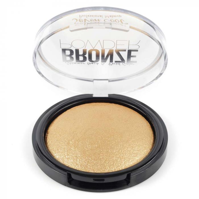 Pudra Profesionala Iluminatoare, Seven Cool, Bronze Powder, Shimmer Touch, 04 Gold-big