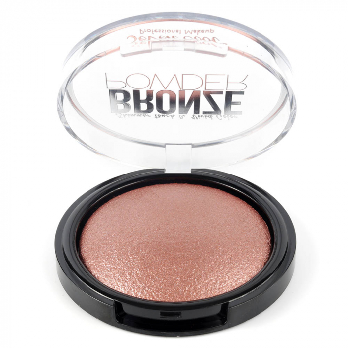 Pudra Profesionala Iluminatoare, Seven Cool, Bronze Powder, Shimmer Touch, 05 Pink Diamond-big