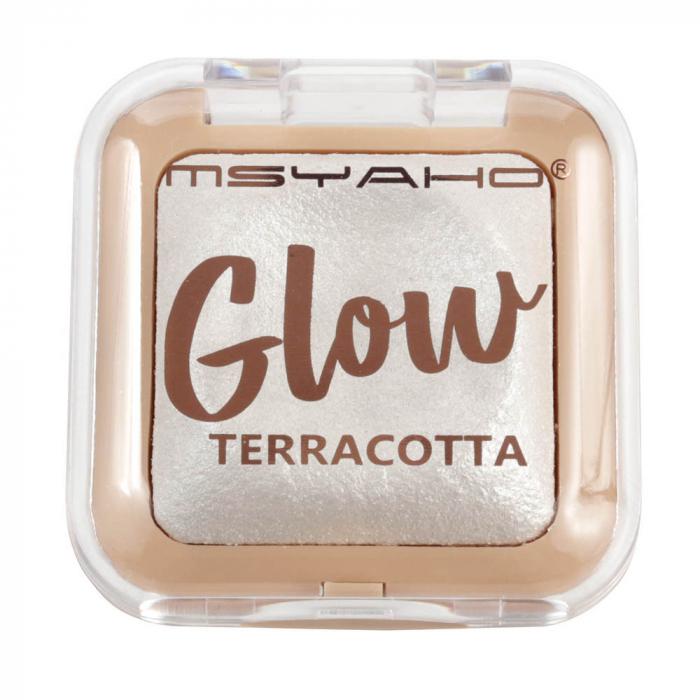 Pudra Iluminatoare, Glow TERRACOTTA, 01, 8 g-big