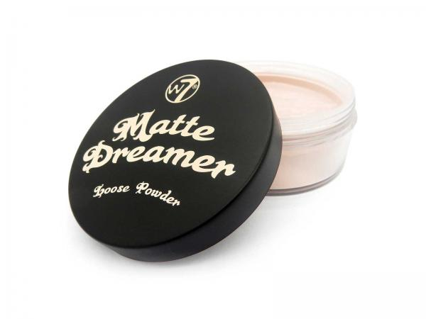 Pudra Pulbere Matifianta si Fixatoare W7 Matte Dreamer Loose Powder - Classy Cameo, 20g-big