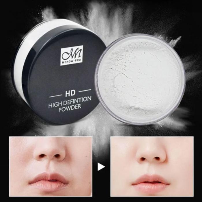 Pudra Translucida Profesionala pentru fixarea machiajului, MeNow HD High Definition Powder, 20 g-big