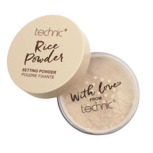Pudra fixare machiaj, matifiere, anti-sebum, Technic Rice Setting Powder, 14 g-big