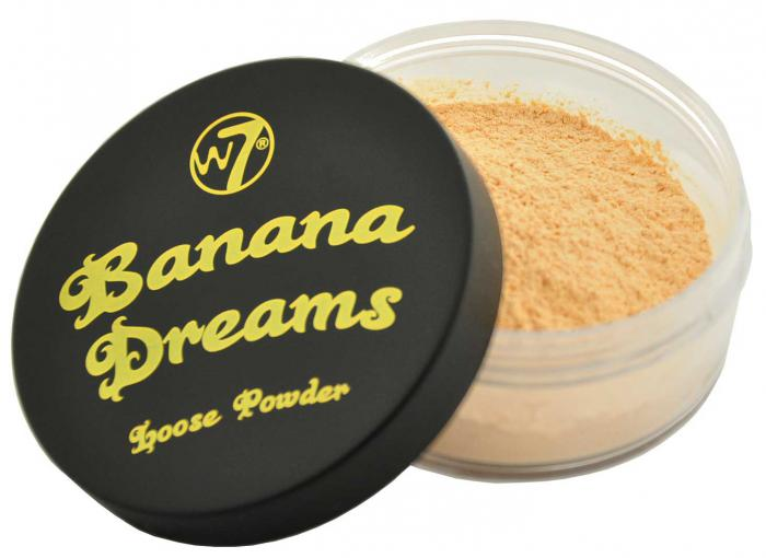 Pudra Translucida Neutralizatoare W7 Banana Dreams BIG SIZE - 20 gr-big