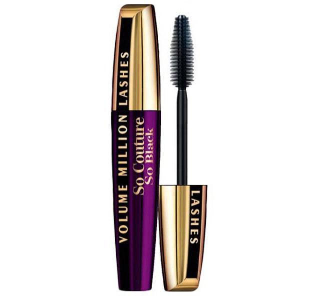 Rimel L'oreal Volume Million Lashes So Couture Mascara, So Black, 9.5 ml-big