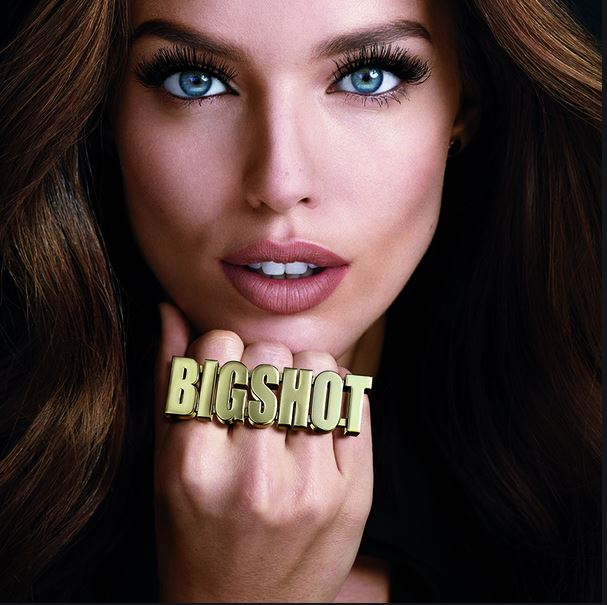 Rimel Maybelline New York BIG SHOT Volum' Express WATERPROOF, Negru intens, 9.5 ml-big