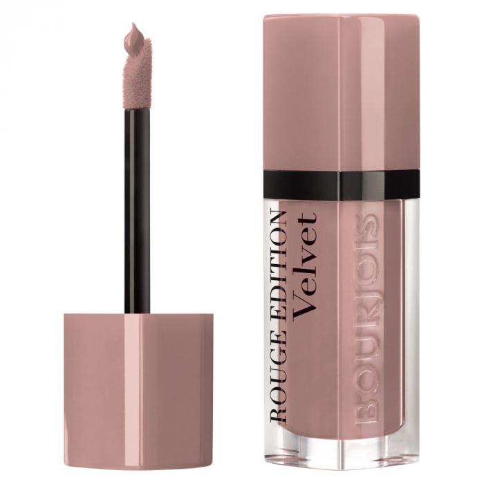 Ruj Lichid Bourjois Paris Rouge Edition Velvet Lipstick,  27 Cafe Ole, 7.7 ml-big