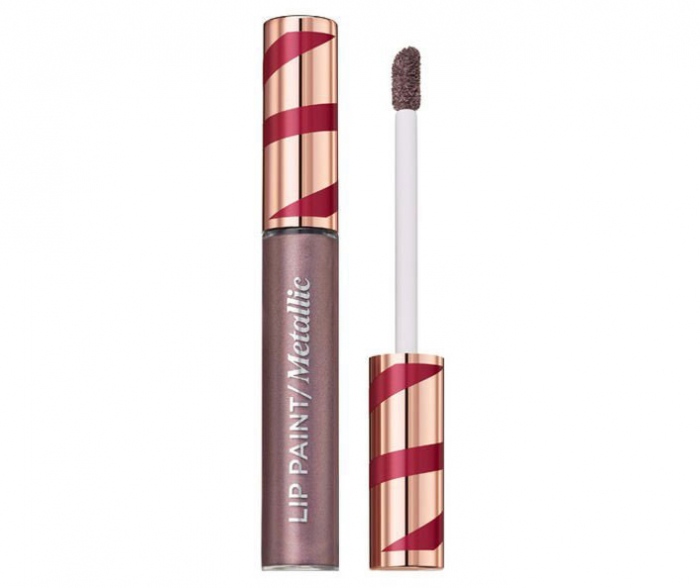 Ruj lichid metalic L'Oreal Paris Merry Metals Lip Paint Metallic 303 Internet, 5 ml-big