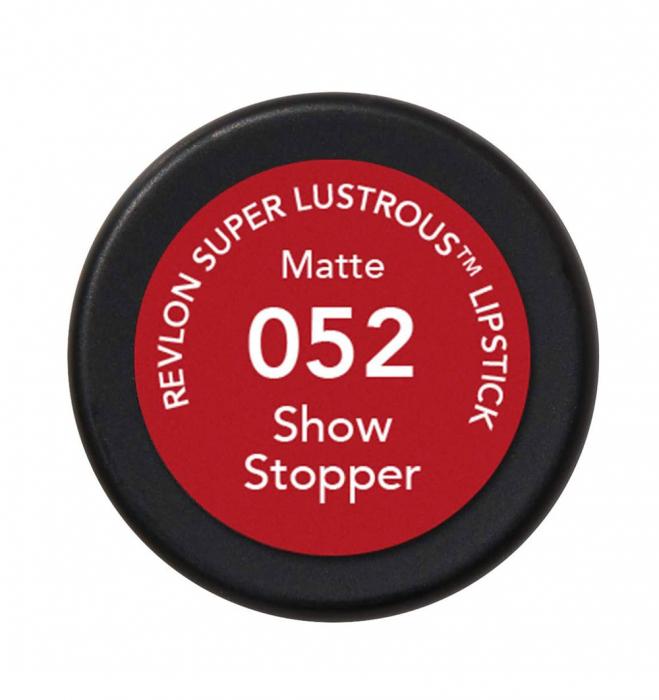 Ruj mat Revlon Super Lustrous Lipstick, 052 Show Stopper, 4.2 g-big
