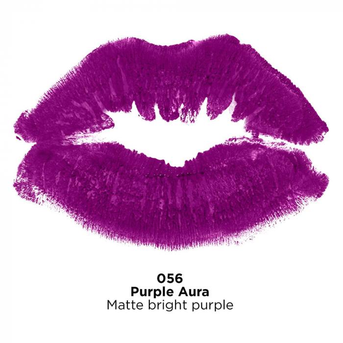 Ruj mat Revlon Super Lustrous Lipstick, 056 Purple Aura, 4.2 g-big
