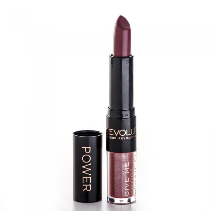 Ruj Si Gloss Makeup Revolution Lip Power - Anticipate It-big