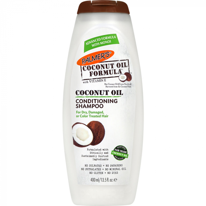 Sampon par uscat, deteriorat sau vopsit PALMER'S Coconut Oil Formula Conditioning, Vitamina E, 400 ml-big