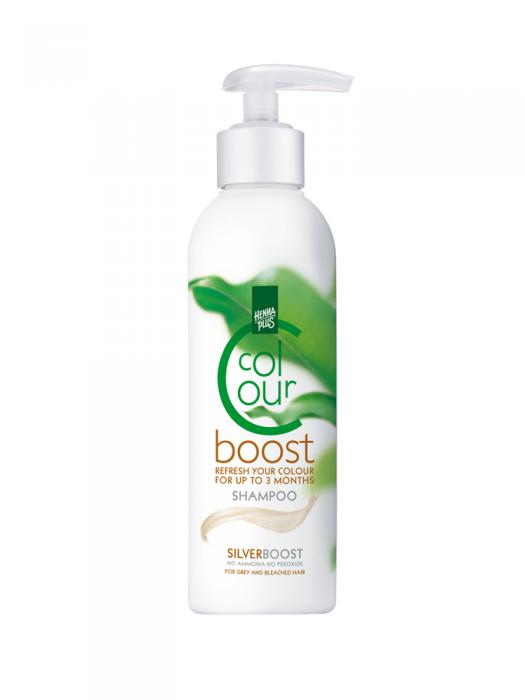 Sampon colorant HennaPlus Colour Boost, Silver - 200 ml-big