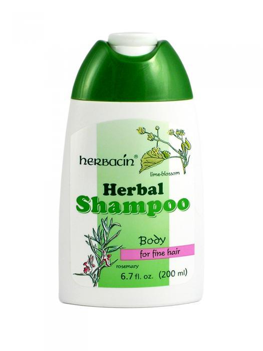 Sampon Pentru Par Normal Si Subtire Herbacin - 200 ml-big