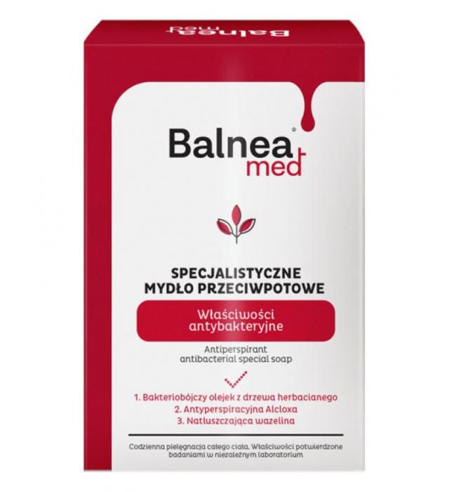 Sapun special antibacterian si antiperspirant, Balnea Med, Barwa, 100 g-big