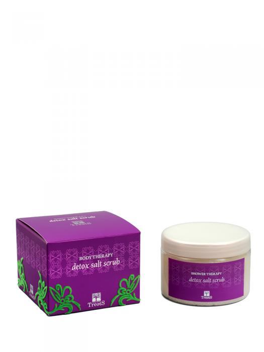 Sare Exfolianta pentru Corp TREETS Detox - 450 ml-big