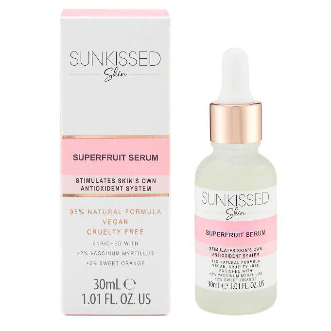 Ser Antioxidant cu Superfructe, SUNKISSED Superfruit Serum, 95% Ingrediente Naturale, 30 ml-big