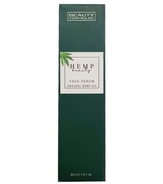 Ser facial cu Ulei Organic de Canepa BEAUTY FORMULAS Face Serum, 30 ml-big