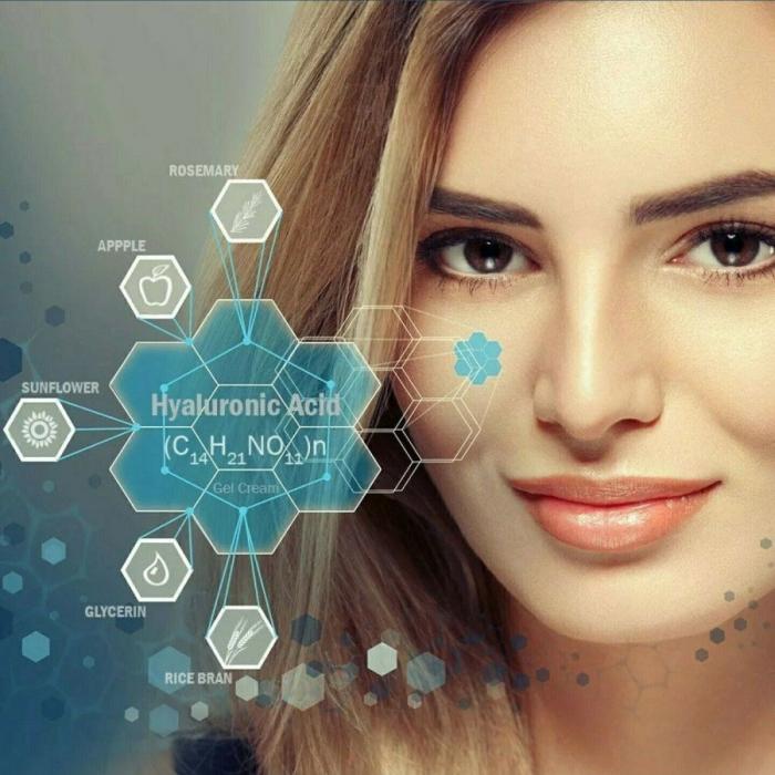 Ser facial hidratant cu Acid Hialuronic si extract de Alge Marine CREIGHTONS H2O Boost, 30 ml-big