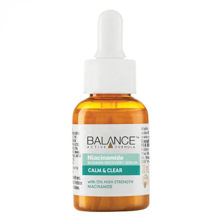 Ser facial anti-sebum cu Niacinamida BALANCE ACTIVE Blemish Recovery Serum, 30 ml-big