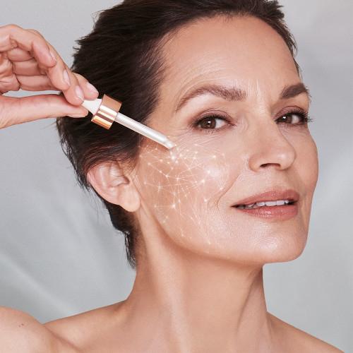 Ser antirid cu efect de fermitate SUNKISSED Multi Peptide Skin Boosting Serum, 95% Ingrediente Naturale, 30 ml-big
