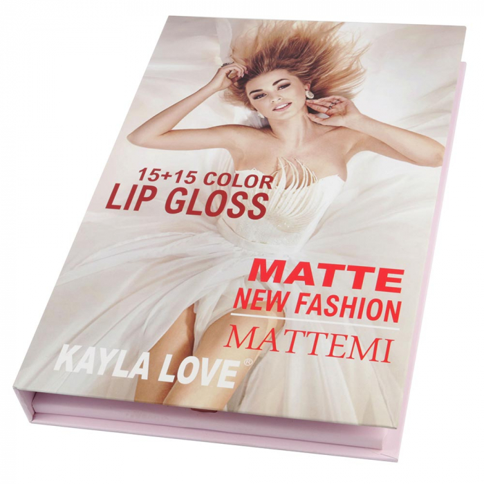 Set Cadou 30 Rujuri Lichide Mate, Kayla Love, Matte New Fashion-big