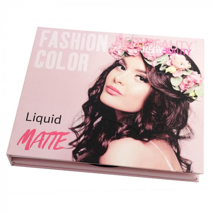 Set 16 Rujuri Lichide Mate FASHION COLOR Liquid Matte, Nude & Roses-big