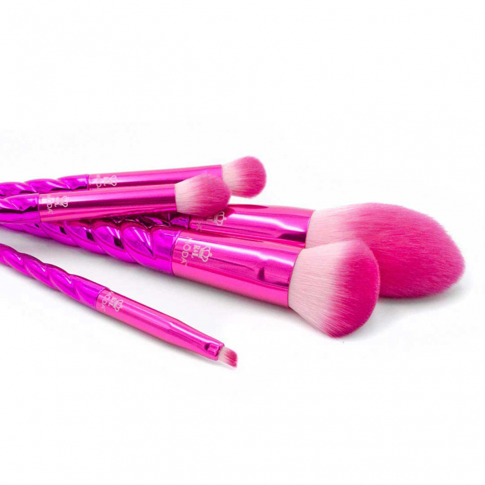 Set 5 pensule profesionale Royal & Langnickel MODA Mythical Kit, Wild Blush-big