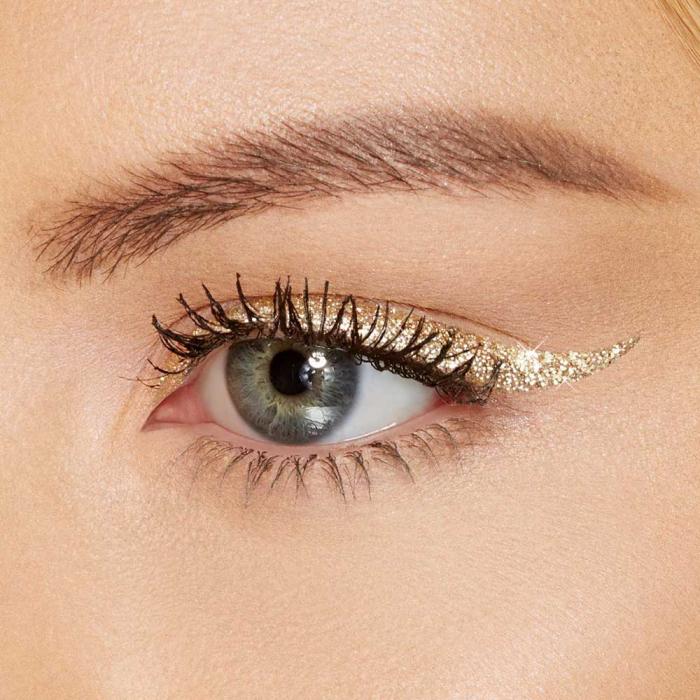 Set Cadou cu 6 Tusuri de Ochi cu sclipici, Rezistente la Transfer, Pretty Up Glitter Eyeliner, 6 x 4 ml-big