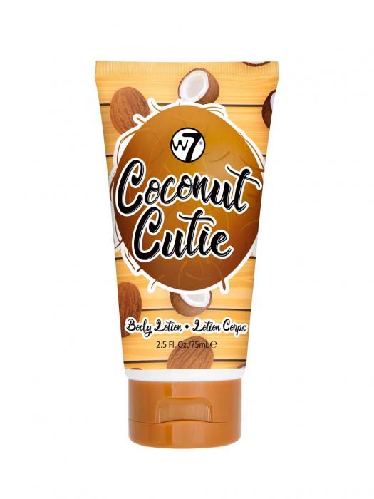 Set cu Lotiune de corp, Spray de corp si Gel de dus cu COCOS, W7 Travel Set Trio Coconut Cutie, 75 ml x 90 ml x 75 ml-big